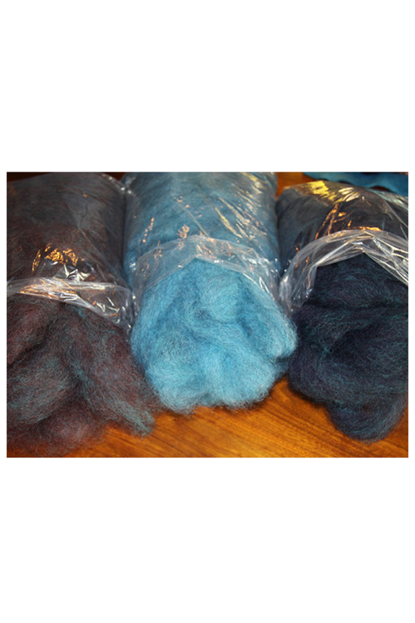 Dyed Leicester Longwool Roving
