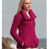 West End Double Collar Cardigan