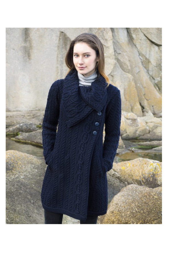 West End Burren Chunky Collar Coat