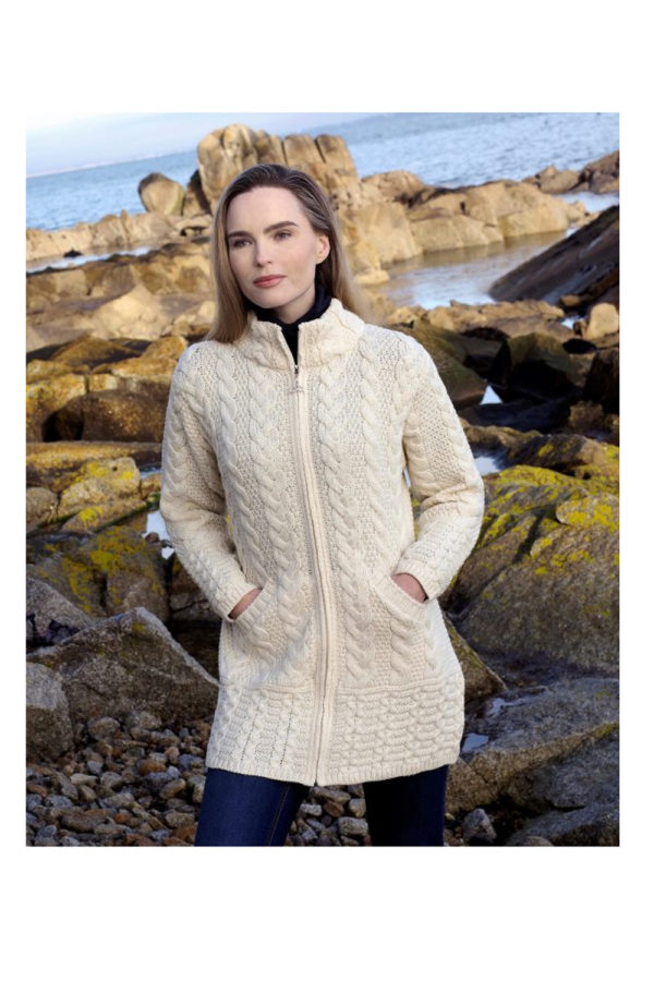 West End Cork Long Zip Coat