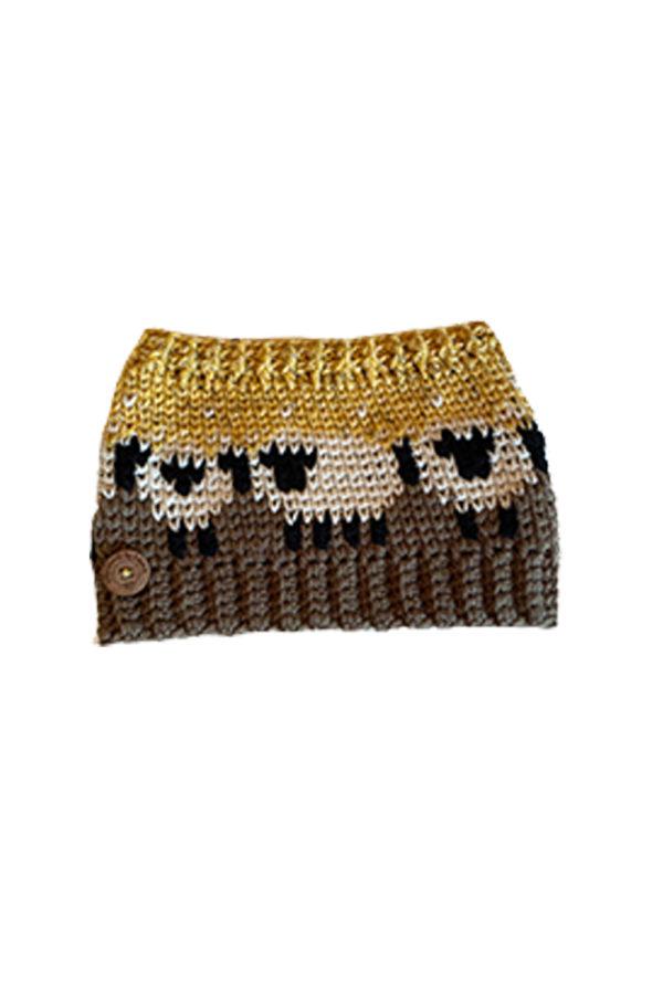 Hand Knitted Head Warmer